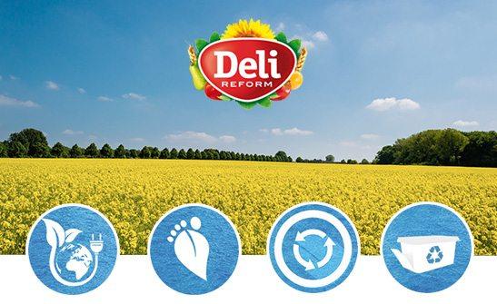 Nachhaltigkeit bei Deli Reform für Umwelt, Klima und Mensch!