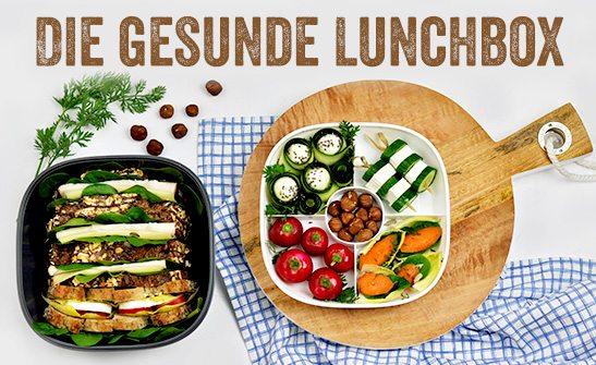 Jetzt Lunchbox-Rezept einsenden und 1 von 10 tollen Preisgeld- und Produktpaketen gewinnen!
